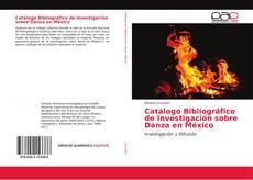 Обложка Catálogo Bibliográfico de Investigación sobre Danza en México