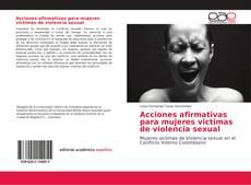 Portada del libro de Acciones afirmativas para mujeres victimas de violencia sexual