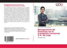 Portada del libro de Reingenieria de Procesos en la Compañía Cevascop S.A. de Loja