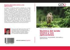 Capa do livro de Química del ácido úsnico y sus aplicaciones