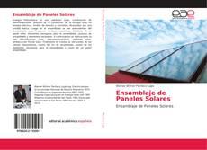 Buchcover von Ensamblaje de Paneles Solares