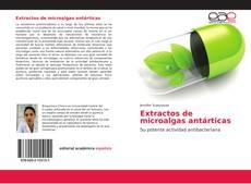 Buchcover von Extractos de microalgas antárticas