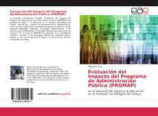 Portada del libro de Evaluación del Impacto del Programa de Administración Pública (PROMAP)