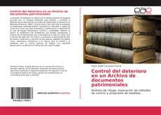 Borítókép a  Control del deterioro en un Archivo de documentos patrimoniales - hoz
