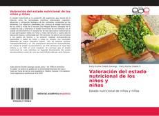 Обложка Valoración del estado nutricional de los niños y niñas