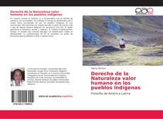 Portada del libro de Derecho de la Naturaleza valor humano en los pueblos indígenas