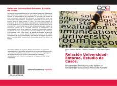 Borítókép a  Relación Universidad-Entorno - hoz