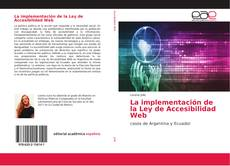 Portada del libro de La implementación de la Ley de Accesibilidad Web