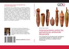 Capa do livro de Interrelaciones entre los polisémicos ambiente desarrollo