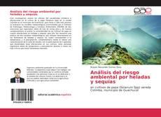 Bookcover of Análisis del riesgo ambiental por heladas y sequías