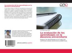 Couverture de La evaluación de los aprendizajes en la docencia universitaria