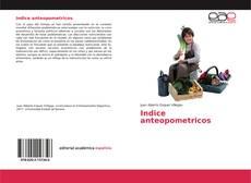 Portada del libro de Indice anteopometricos
