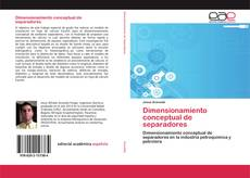 Capa do livro de Dimensionamiento conceptual de separadores