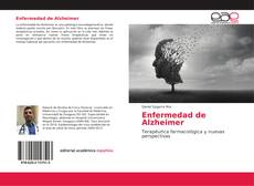 Buchcover von Enfermedad de Alzheimer