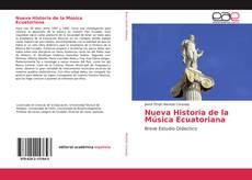 Buchcover von Nueva Historia de la Música Ecuatoriana