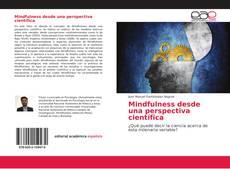 Mindfulness desde una perspectiva científica的封面