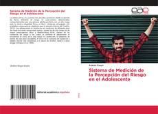 Bookcover of Sistema de Medición de la Percepción del Riesgo en el Adolescente