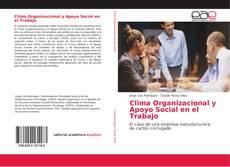 Bookcover of Clima Organizacional y Apoyo Social en el Trabajo