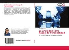 Copertina di La Ansiedad como Rasgo de Personalidad