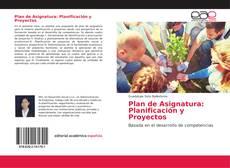 Bookcover of Plan de Asignatura: Planificación y Proyectos
