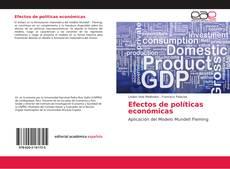 Bookcover of Efectos de políticas económicas
