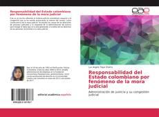 Copertina di Responsabilidad del Estado colombiano por fenómeno de la mora judicial