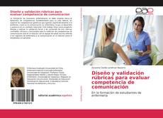 Portada del libro de Diseño y validación rúbricas para evaluar competencia de comunicación
