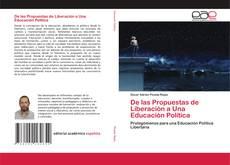 Buchcover von De las Propuestas de Liberación a Una Educación Política