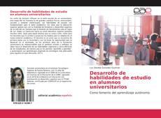 Обложка Desarrollo de habilidades de estudio en alumnos universitarios