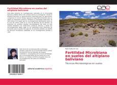 Portada del libro de Fertilidad Microbiana en suelos del altiplano boliviano