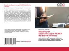 Bookcover of Estudio por Espectroscopía RAMAN del Efecto Térmico