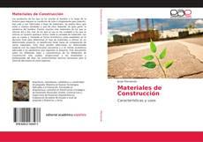 Portada del libro de Materiales de Construcción
