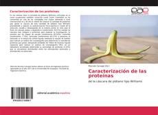 Portada del libro de Caracterización de las proteínas