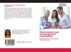 Buchcover von Cómo hacer una Investigación Cualitativa