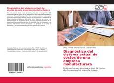 Buchcover von Diagnóstico del sistema actual de costos de una empresa manufacturera