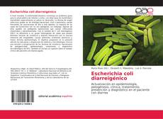Bookcover of Escherichia coli diarreigénico