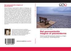 Bookcover of Del pensamiento mágico al posmoderno
