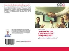 Portada del libro de Acuerdos de Colaboracion Empresarial