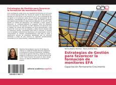 Capa do livro de Estrategias de Gestión para favorecer la formación de monitores EFA
