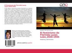 Bookcover of El feminismo de Florinda Lazos León,1920-1945