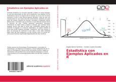 Portada del libro de Estadistica con Ejemplos Aplicados en R