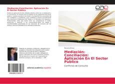 Portada del libro de Mediación-Conciliación: Aplicación En El Sector Publico