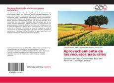 Capa do livro de Aprovechamiento de los recursos naturales