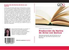 Producción de Harina de Arroz con Quinua的封面