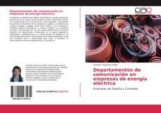 Copertina di Departamentos de comunicación en empresas de energía eléctrica