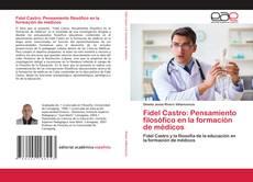 Portada del libro de Fidel Castro: Pensamiento filosófico en la formación de médicos