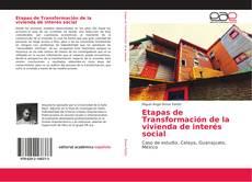 Portada del libro de Etapas de Transformación de la vivienda de interés social