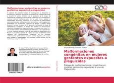 Copertina di Malformaciones congénitas en mujeres gestantes expuestas a plaguicidas
