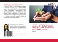Bookcover of Aplicación de la filosofía Montessori en enseñanza del idioma inglés