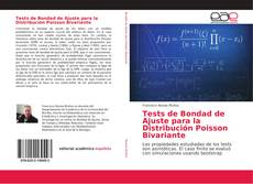 Bookcover of Tests de Bondad de Ajuste para la Distribución Poisson Bivariante